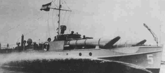Торпедный катер «Durmitor»
