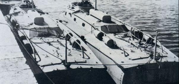 Торпедный катер «LS-5» и «LS-6»