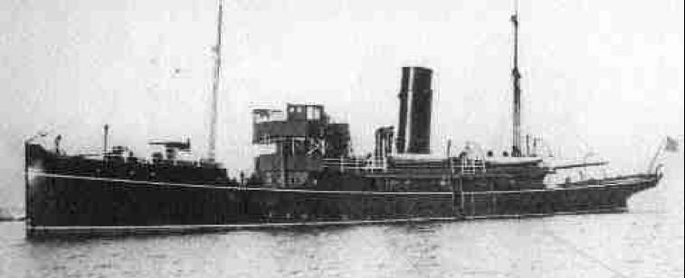Патрульный корабль «Muirchu» (Helga)