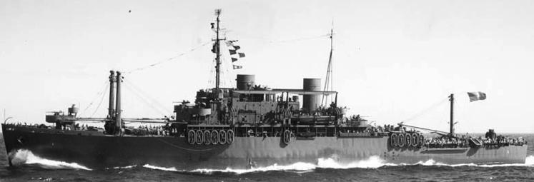 Пехотно-десантный транспорт «Doyen» (APA-1)
