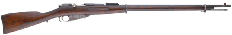 Пехотная винтовка Мосина образца 1891 г