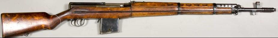 Самозарядная винтовка Токарева СВТ-38