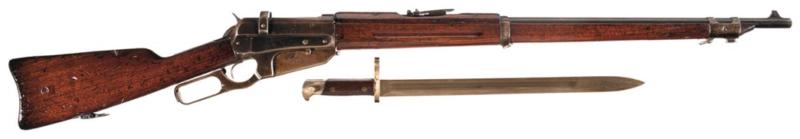 Винтовка Winchester M-1895 под патрон7,62x54R