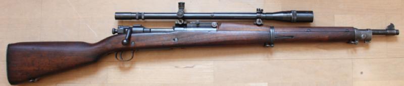 Снайперский вариант M-1903А1 Springfield