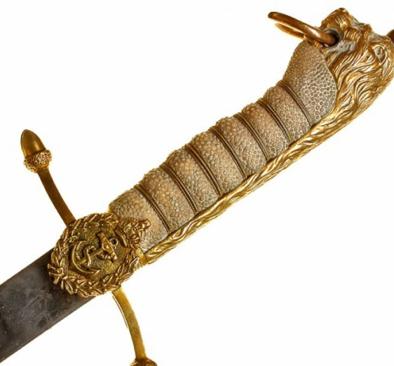 Рукояти кортика морской обр. 1901 г