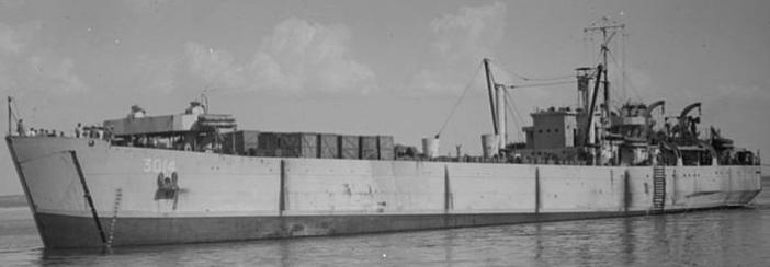 Танкодесантные корабли «LST-3014»