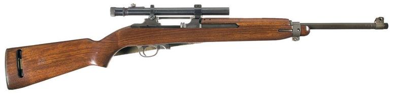Карабин М-2 Carbine с оптическим прицелом