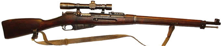 Винтовка М-28 с оптическим прицелом
