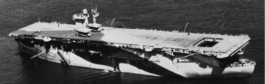 Эскортный авианосец «Dasher»