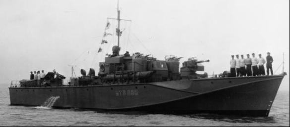Торпедный катер «МТВ-665»