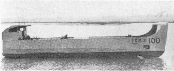 Танкодесантные катера типа «LCM-100»