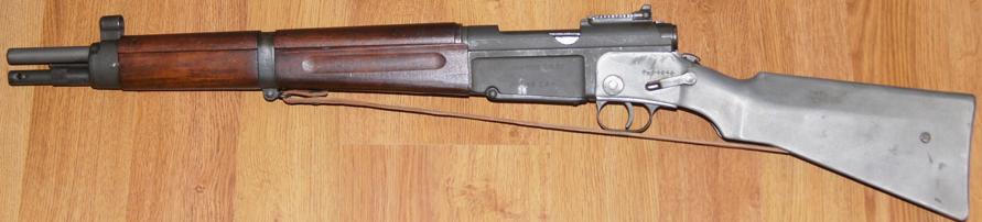 Карабин MAS-36 CR39 в боевом положении