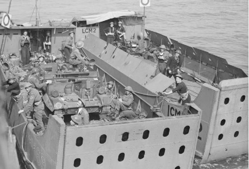 Танкодесантные катера типа «LCM (1)»