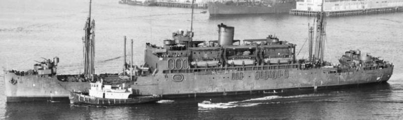 Пехотно-десантный транспорт «Barnett» (APA-5)