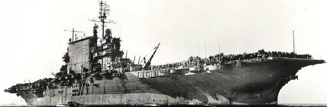 Авианосец «Saratoga» (CV-3)