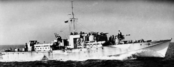 Торпедный катер «МТВ-724»