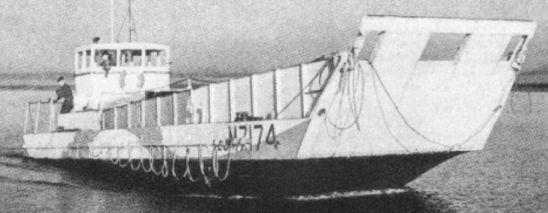 Танкодесантный катер «LCM-7174»