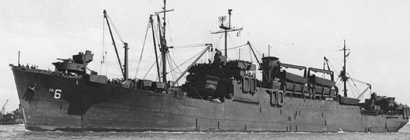 Пехотно-десантный транспорт «Heywood» (APA-6)