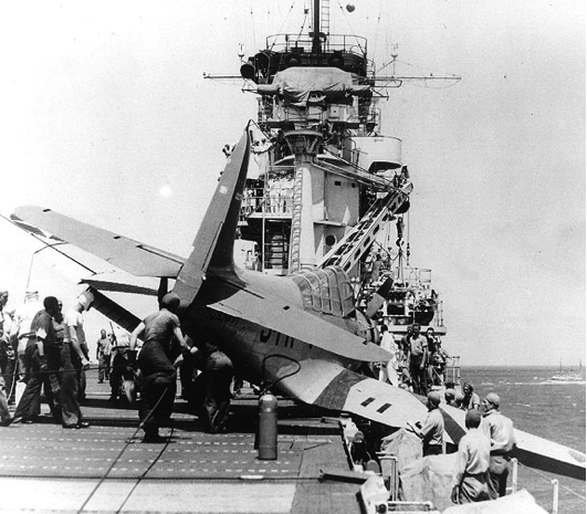 Авианосец «Yorktown» (CV-5)