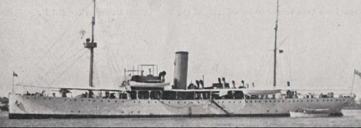 Конвойный шлюп «Cornwallis» (L-09)