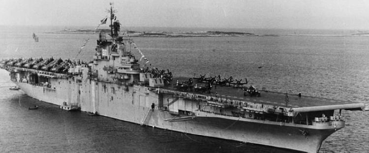 Авианосец «Princeton» (CV-37)