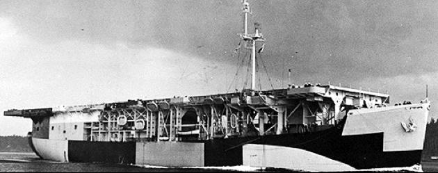 Эскортный авианосец «Long Island» (CVE-1)