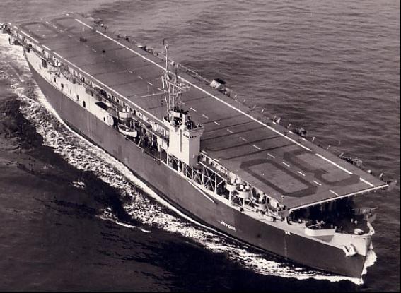 Эскортный авианосец «Charger» (CVE-30)