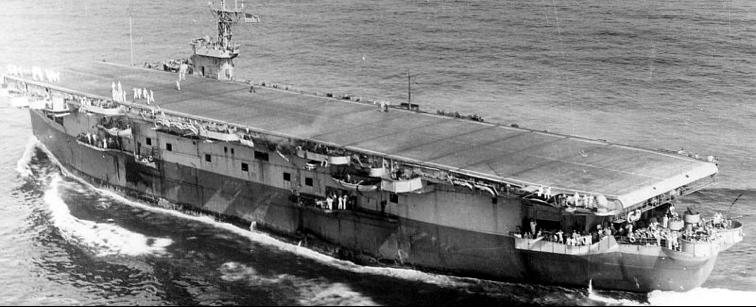 Эскортный авианосец «Bogue» (CVE-9)