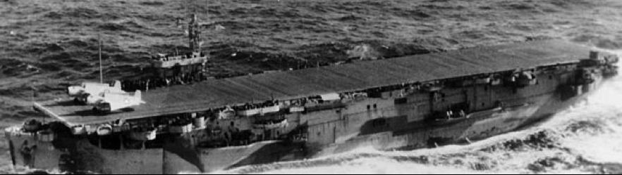 Эскортный авианосец «Core» (CVE-13)