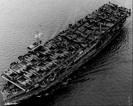 Эскортный авианосец «Barnes» (CVE-20)