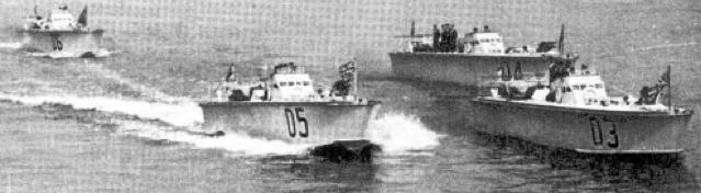 Торпедные катера «МТВ-3» - «МТВ-6»