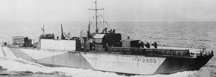 Малый пехотно-десантный катер LCI(S)503 (2503)
