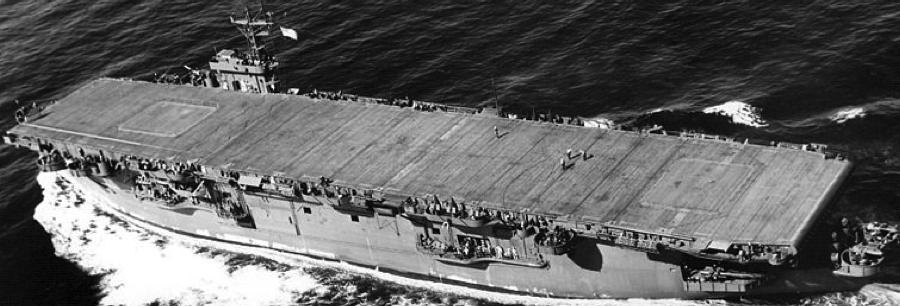 Эскортный авианосец «Breton» (CVE-23)