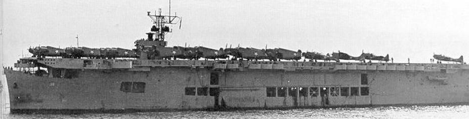 Эскортный авианосец «Sangamon» (CVE-26)