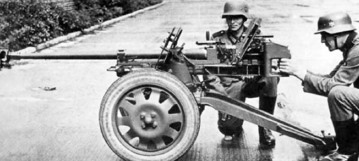 Противотанковое ружье PzB-41 без щита