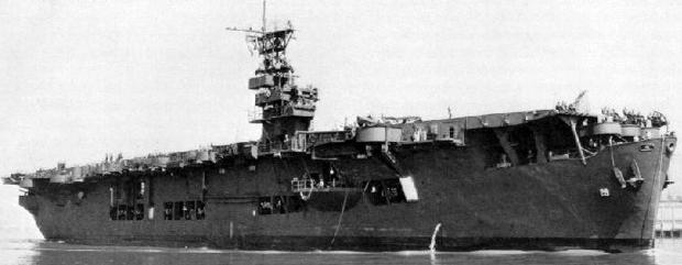 Эскортный авианосец «Chenango» (CVE-28)