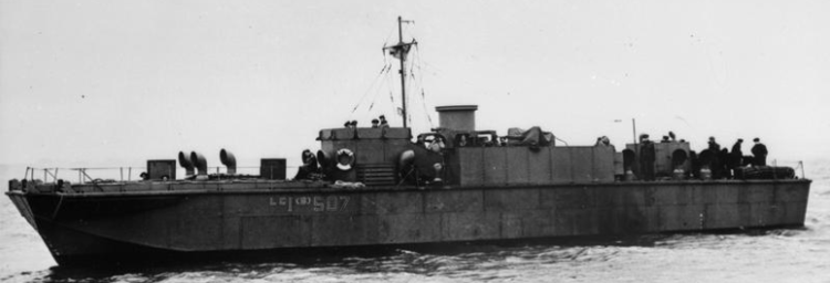 Малый пехотно-десантный катер «LCI(S)-507»