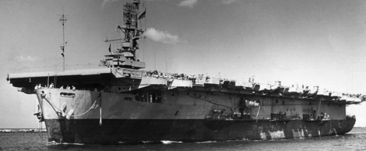 Эскортный авианосец «Solomons»(CVE-67)