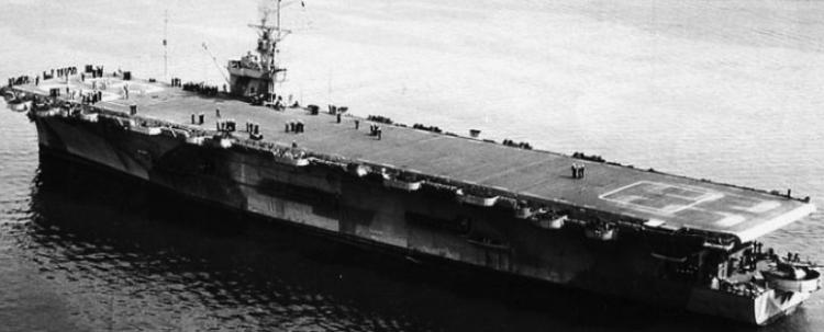 Эскортный авианосец «Kasaan Bay» (CVE-69)