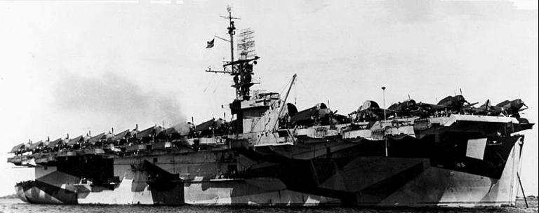 Эскортный авианосец «Shipley Bay» (CVE-85)
