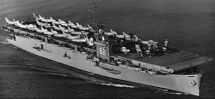 Эскортный авианосец «Windham Bay» (CVE-92)