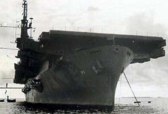 Эскортный авианосец «Bismarck Sea» (CVE-95)