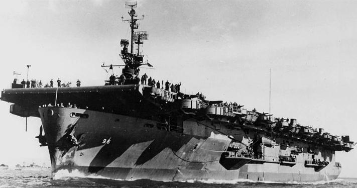 Эскортный авианосец «Salamaua» (CVE-96)