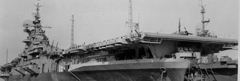 Эскортный авианосец «Commencement Bay» (CVE-105)