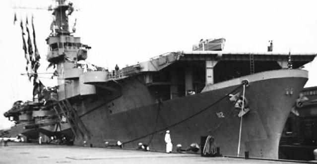Эскортный авианосец «Siboney» (CVE-112)