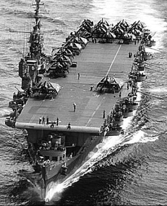 Авианосец «Cowpens» (CVL-25)
