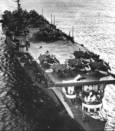 Авианосец «San Jacinto» (CVL-30)
