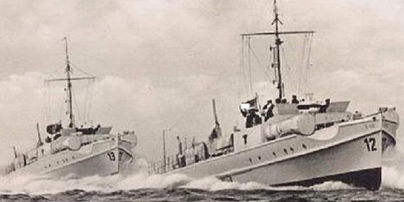Торпедный катер «S-13» и «S-12»