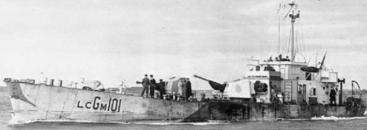 Средний десантный катер огневой поддержи «LCG(M)-101»