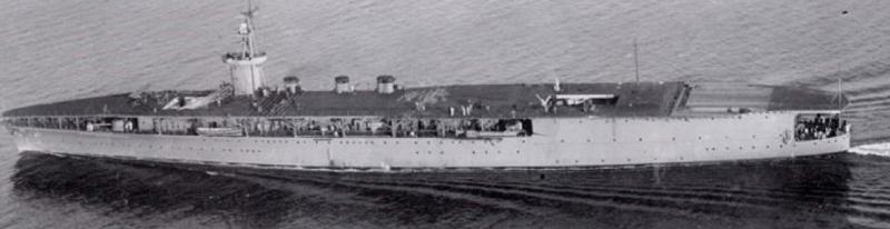 Авианосец «Hosho» до модернизации 1924 г.